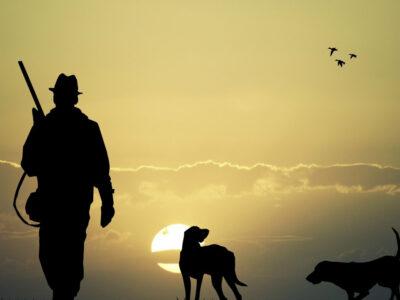 Lovac i pas